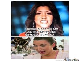 Kim Kardashian Crying Meme - kim kardashian by tr0llguy meme center