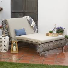 furniture double patio chaise lounge double arm chaise lounge