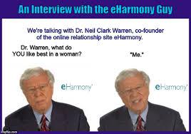 Eharmony Meme - an interview with the eharmony guy imgflip