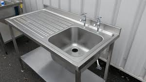stainless steel kitchen sink cabinet used stainless steel sinks home design ideas and pictures