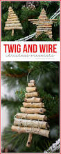 twig and wire christmas ornaments u create