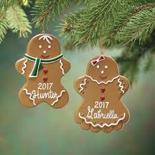 personalized gingerbread ornament kimball