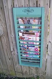 decoration magazine holder for living room magazine rack silver