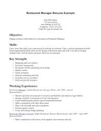 resume objective exles for service crew fast food resume sle foodcity me