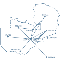South African Airways Route Map by Flights To Durban Flights From Lusaka To Livingstone