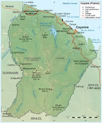 Detailed Map Of France by Maps Of French Guiana Map Library Maps Of The World