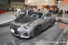 rcf lexus grey lexus rc f 10th anniversary edition at 2017 tokyo motor show live