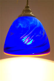 Blue Pendant Lights Blue Lagoon Pendants Chad Balster Glass