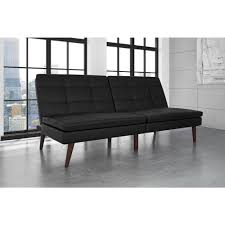 Futon Leather Sofa Bed Futons Sofa Beds Living Room Furniture The Home Depot