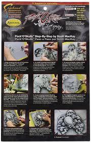 amazon com iwata medea artool skullz 2 airbrush template set of