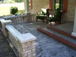 Patio Concrete Designs by Concrete Patio Makeover Before And During Patio Makeovers U2013 The