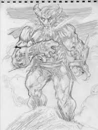 comicbooks davidskeletons sketchblog page 3