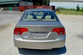 2006 honda civic tan sedan sale