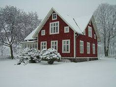 Winter House Winter In Sweden Sweden Cabin And Winter
