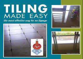 Tiling System Guide Tile Leveling System
