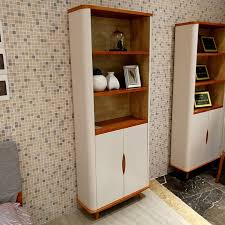 Book Cabinet With Doors by Dian S5112 North Europe Two Doors Book Cabinet Amber Yellow White