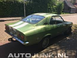 1972 opel manta 1972 opel manta groen foto u0027s autojunk nl 168291
