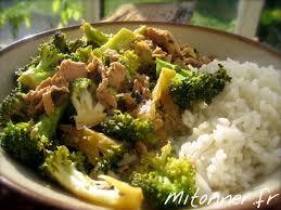 cuisiner brocolis a la poele thon mitonner fr