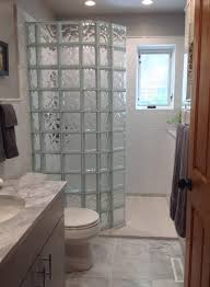 glass block designs for bathrooms how to select a shape for your glass block shower wall design