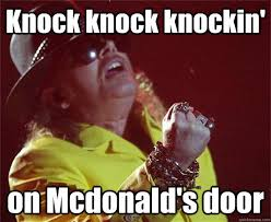 Rose Memes - the best fat axl rose memes on the internet a tribbled mind