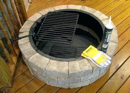 Outdoor Firepit Kit Backyard Pit Kits Jacketsonline Club