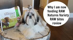 natures variety raw bites dog food youtube