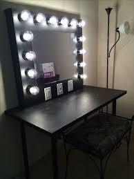 cheap makeup vanity mirror with lights makeup vanity powell furniture marquis cherry wood popular bedroom