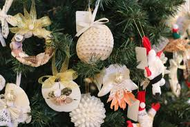shell ornaments for sale to benefit the moffitt cancer center