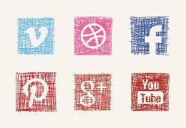 social media icons iconfinder com