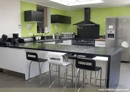 cuisines raison style de cuisine moderne photos 4 cuisine en u stratifie fonce