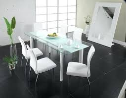 all glass dining table modern glass dining table brideandtribe co