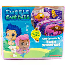 Bubble Guppies Twin Bedding by Top 5 Twin Sheet Set For Kids Ebay