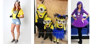 Halloween Costumes For Kids Girls 15 Minion Halloween Costume Ideas For Kids U0026 Girls 2015 Girlshue