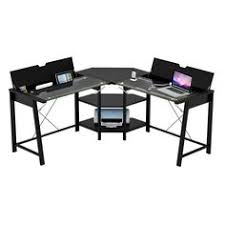 Ergocraft Ashton L Shaped Desk Monarch Specialties L Shaped Computer Desk 37 H X 57 W X 57 D