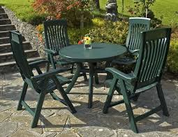 Patio Table Ideas by Furniture Ideas Plastic Patio Furniture With Small Green Round Is
