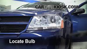 2008 Dodge Avenger Se Interior Headlight Change 2008 2014 Dodge Avenger 2010 Dodge Avenger Sxt