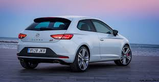 2016 seat leon cupra 290 gti beating coupe hatch and wagon gain