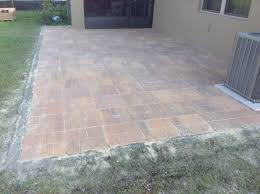 Flagstone Patio Installation Cost by Brick Paving Tampa