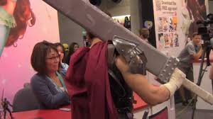 best berserk guts cosplayer ever viz media eiko tanaka san