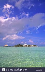 bungalows on robinson island belize caribbean sea cayo espanto