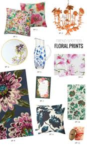 trend spotted floral prints for home modern eve