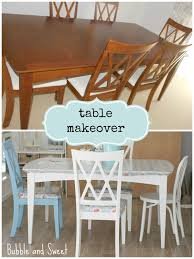 Dining Room Table Makeover Ideas Bubble And Sweet Kids Playroom Makeover On A Budget