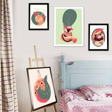aliexpress com buy cartoon art print poster wall pictures canvas