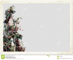 fashioned christmas tree fashioned christmas tree stock photo image 62960603