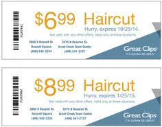 haircut specials at great clips great clip coupons 2016 printable hairstyle inspirations 2018