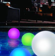 floating pool ball lights 4 fun and funky floating pool lights infinigeek