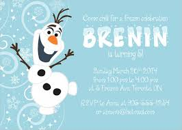 26 frozen birthday invitation templates u2013 free sample