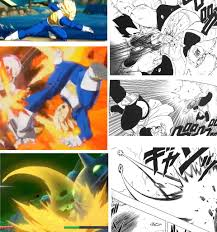 dragon ball fighterz draws inspiration from the manga a game