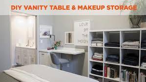 Diy Vanity Desk Diy Vanity And Makeup Table Diy