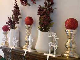 decorating mantel hangers with pottery barn